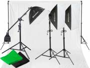 BRESSER BR-2105 Daylight and Background Set 2925W