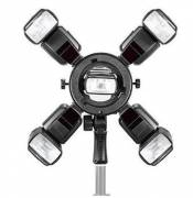 Triopo Q-5 Flash Bracket for 5 Camera Flahes