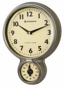 BRESSER MyTime Stainless Steel Retro Kitchen Clock & Timer