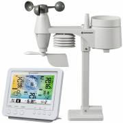 BRESSER WIFI color weather center with 5in1 profi sensor white
