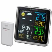 BRESSER Weather Station ClimaTemp TB with LCD colour display