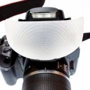 eyelead universal Pop-up Flash Diffusor for DSLR Cameras