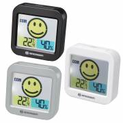 BRESSER Temeo Smile Thermo-hygrometer with Room Climate Indicator