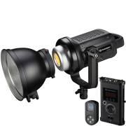BRESSER BR-D1200BL COB Bi-Color LED Spot Light with Cooling