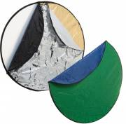 BRESSER BR-TR2 7in1 collapsible Diffuser, collapsible Reflector & collapsible Background 80 cm