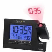 EXPLORE SCIENTIFIC Slim Projection Radio-controlled Dual alarm clock