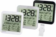 BRESSER MyTime Meteotime LCD Wall Clock