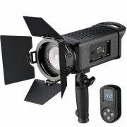 BRESSER SP-60 portable 60W LED Fresnel Light with Remote Control