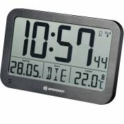 BRESSER MyTime MC LCD Wall /Table Clock black 225x150mm
