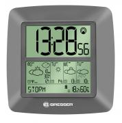 BRESSER Jumbo LCD RC Wall Clock with Weather Forecast