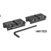 Hawke 2pc Adaptor Weaver to 11mm Riflescope Mount