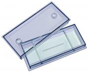 Bresser Blank Slide with 0.1 mm micrometer