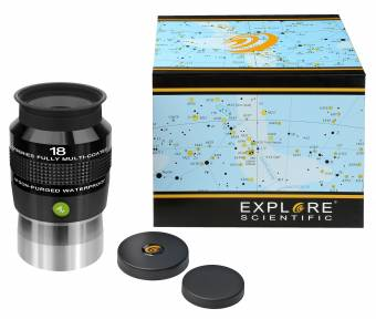 "Explore Scientific 82° N2 Eyepiece 18mm (2"")"
