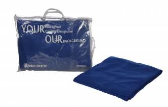 BRESSER Y-9 Background Cloth 3x4m Chromakey blue