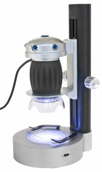 Bresser Junior Hand-held USB Microscope LED Stand