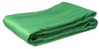 BRESSER BR-8P Polyester Background Cloth 3x6m chromakey green