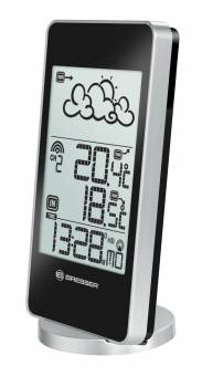 BRESSER TemeoTrend SB RC Weather Station, silver/black
