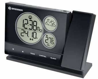 BRESSER BF-PRO RC Weather Station with projector, black