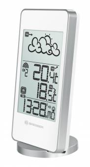 BRESSER TemeoTrend SW RC Weahter Station, silver/white