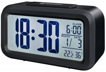 BRESSER MyTime Duo Alarm Clock black