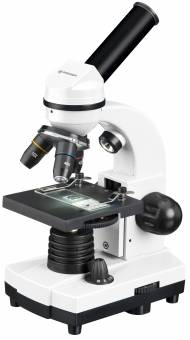 BRESSER Biolux SEL Student microscope with hard shell case