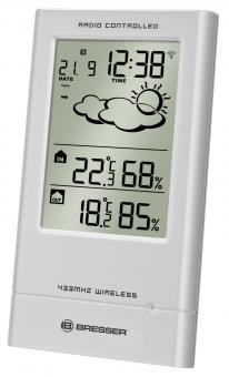 BRESSER TempTrend RC Weather Station, silver