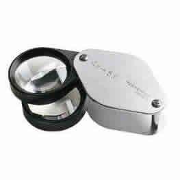 Eschenbach 1187 4x + 6x Folding Magnifier