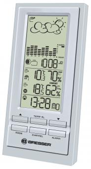 BRESSER TemeoTrend NBF RC Weather Station, silver