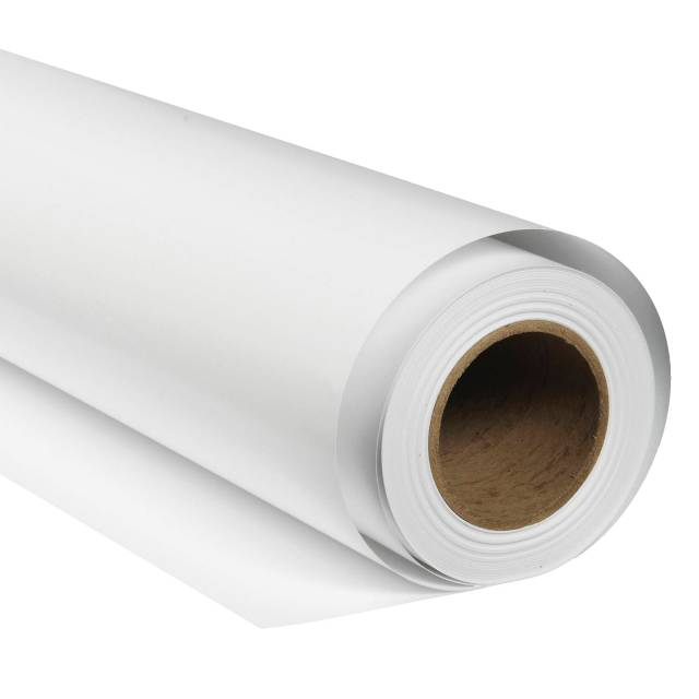 BRESSER SBP01 Paper Background Roll 2,72 x 11m Arctic White