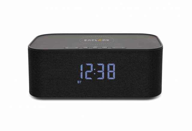 Clock with BT speaker/wireless charge
