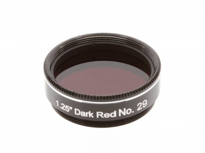 "EXPLORE SCIENTIFIC Filter 1.25"" Dark Red No.29"