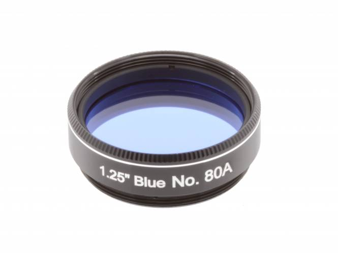 "EXPLORE SCIENTIFIC Filter 1.25"" Blue No.80A"