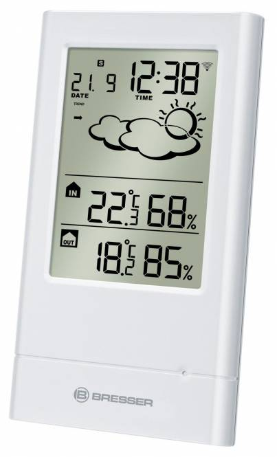 BRESSER TempTrend Wireless Weather Station, white