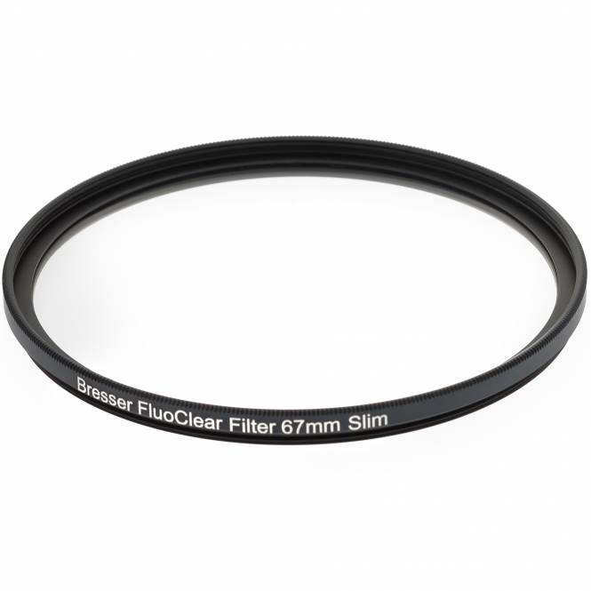 BRESSER FluoClear filter for fluorescence 67mm slim