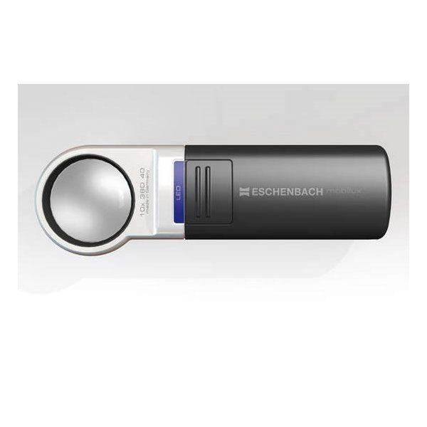 Eschenbach mobiluxLED 38D 10x 35mm Ill. Magnifier