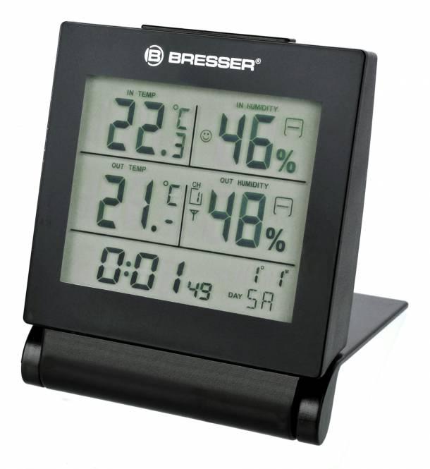 BRESSER MyTime Travel Alarm Clock