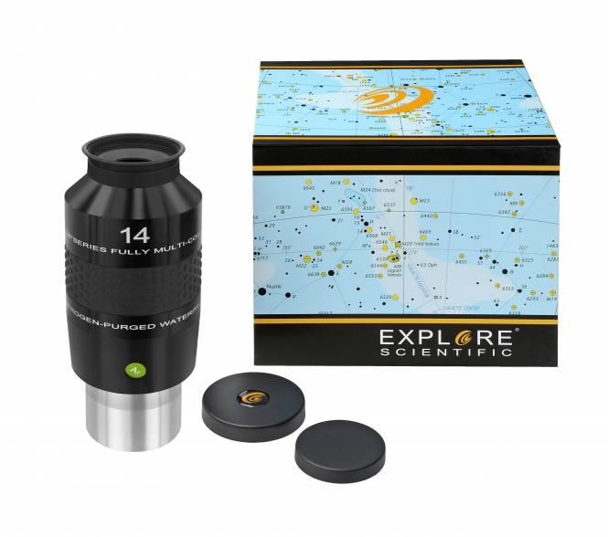 """EXPLORE SCIENTIFIC 100° Ar Eyepiece 14mm (2"""")"""