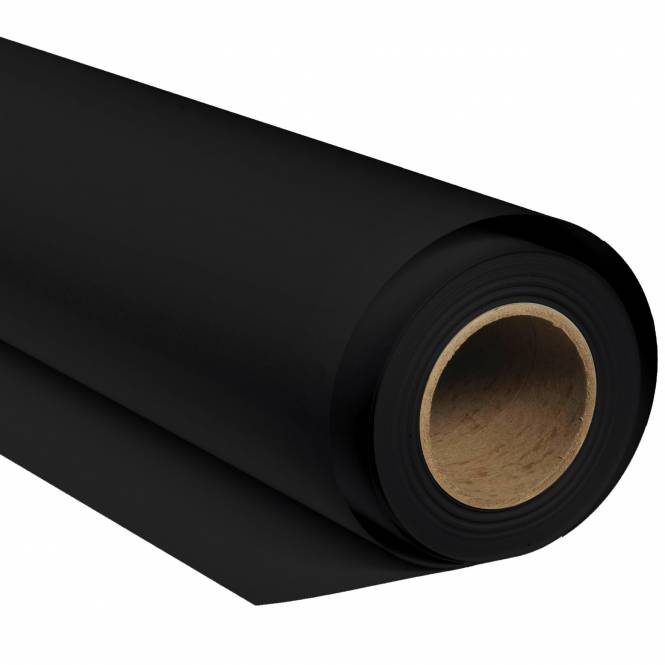 BRESSER SBP02 Paper Background Roll 2.72x11m black