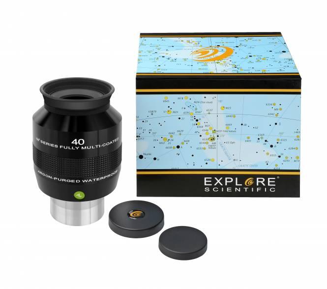 """EXPLORE SCIENTIFIC 68° Ar Eyepiece 40mm (2"""")"""