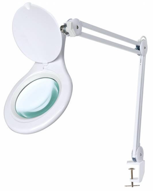 BRESSER 2x 125mm Magnifying Clamp-On LED Desk Lamp