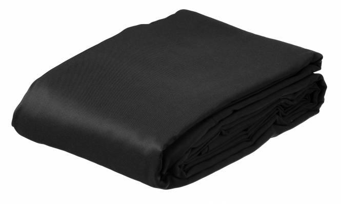 BRESSER BR-8P Polyester Background Cloth 3x6m black