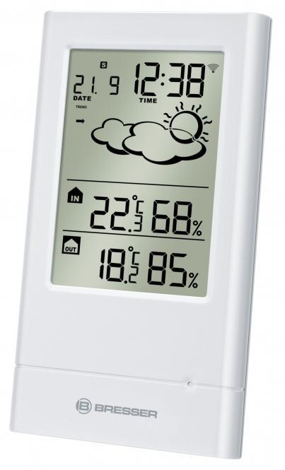 BRESSER TempTrend Wireless Weather Station, white