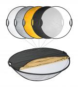 BRESSER TR-22 5in1 Collapsible Reflector with Handles 110cm